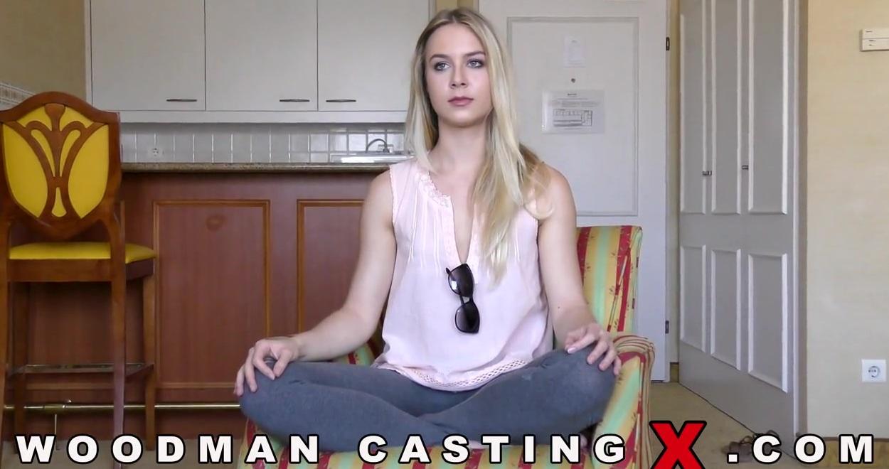 Девушка на кинопробах залита спермой