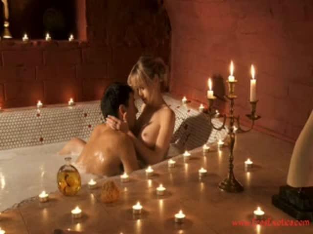 Романтический ужин продолжился кунилингусом